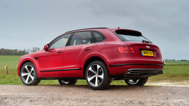 Bentayga rear static