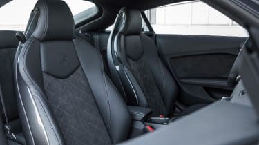 Audi TT S - front seats