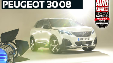 Mid-size SUV of the Year 2017 - Peugeot 3008