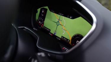 Audi TTS - TFT screen