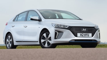 Hyundai Ioniq - front static