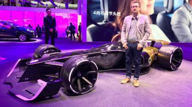 Anthony Ingram show star - Renault R.S. 2027 Vision
