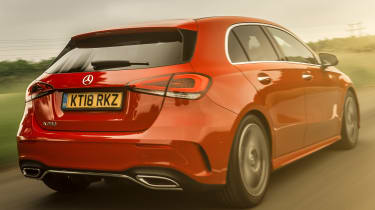 mercedes a-class tracking rear