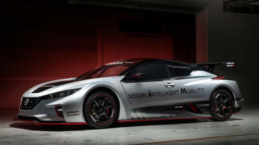 NIssan Leaf NISMO RC - side
