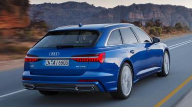 Audi A6 Avant - rear action