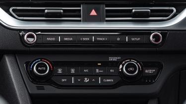 Kia e-Niro Mid Range - centre console