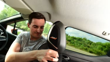 Nissan Micra long-term review - seats