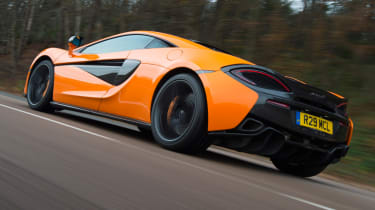 Mclaren 570s review - rear