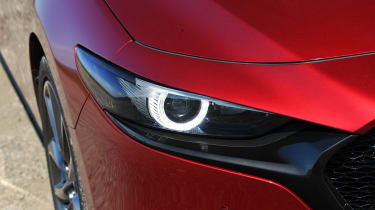 Mazda 3 - front light