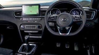 Kia Proceed - dash