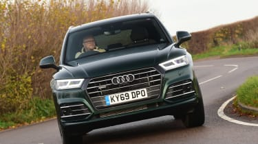 Audi Q5 PHEV long-termer - first report front action