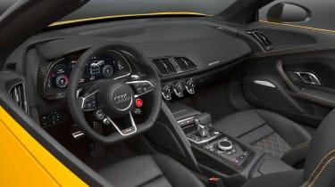 Audi R8 Spyder 2016 official - interior 2