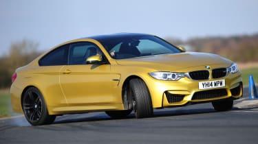 BMW M4 - front cornering