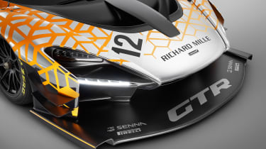 McLaren Senna GTR - front detail