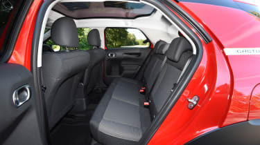 Citroen C4 Cactus review - rear seats
