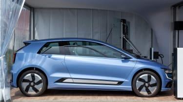 Volkswagen Gen.E side profile