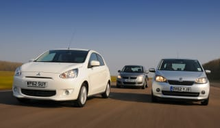 Mitsubishi Mirage vs rivals