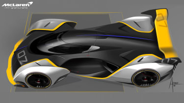 McLaren Ultimate Vision Gran Turismo - above design