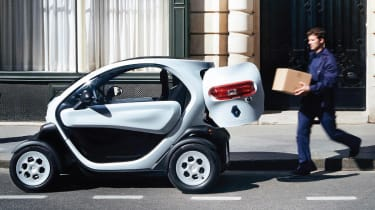Renault Twizy Cargo side