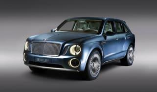 Bentley EXP 9 F front studio