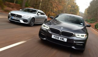 BMW 530e vs Volvo S90 T8 - header