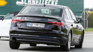 New Audi A4 2015 spy shots 7