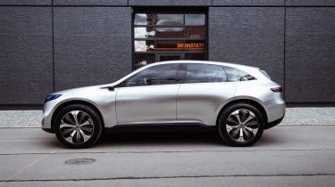 Mercedes EQ Concept - side