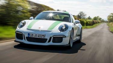 Porsche 911 R - front driving