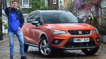 SEAT Arona long-term test - front