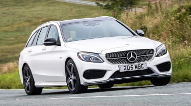 Mercedes-AMG C 43 Estate 2016 - front cornering