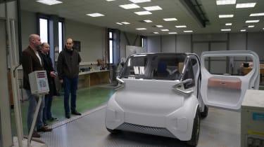 Citroen AMI ONE concept - factory
