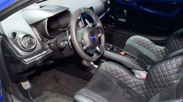 Alpine A110 Geneva show - interior