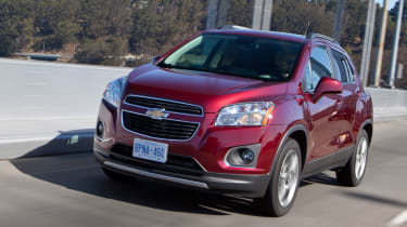 Chevrolet Trax front tracking