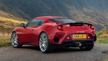 Lotus Evora GT410 - rear