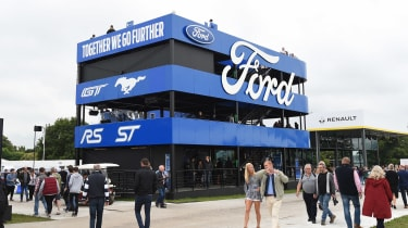 Ford Goodwood stand