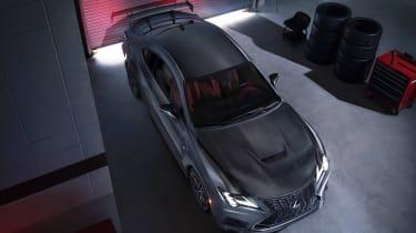 Lexus RC F Track Edition - above