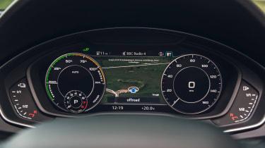 Audi Q5 55 TFSI e - dials
