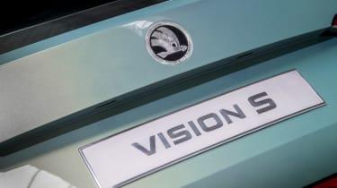 Skoda VisionS concept - rear detail