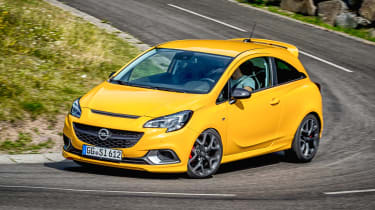 Vauxhall Corsa GSi - front cornering