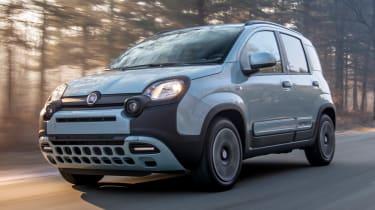 Fiat Panda front tracking