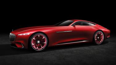 Mercedes-Maybach 6 concept coupe - studio front quarter