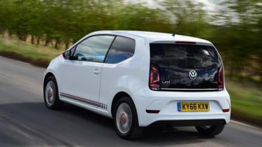 Volkswagen up! - long termer second report rear