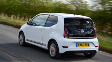 Volkswagen up! - long termer second report rear