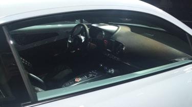 Renault Alpine Vision concept - show reveal inside view