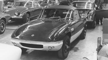 Lotus Elan production line