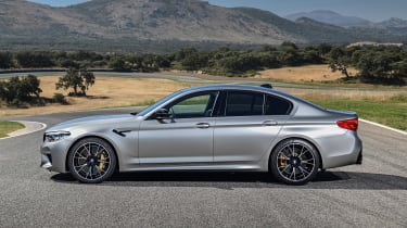 BMW M5 Competition - side static