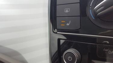 Volkswagen up! - long termer second report heated seat