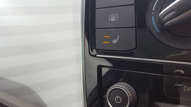 Volkswagen up! - long termer second report heated seat