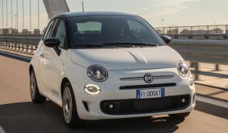 Fiat 500 Google - front