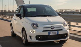 Fiat 500 Google - front